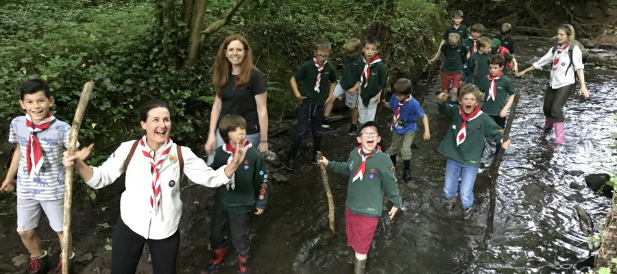 Bristol Cabot Scouts water walk