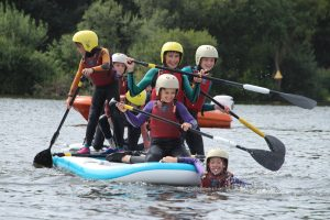 Cabot Scouts canoeing